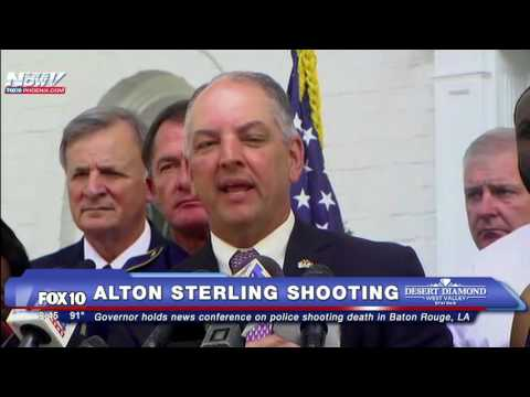 WATCH: Louisiana Governor Addresses Alton Sterling Shooting - FNN