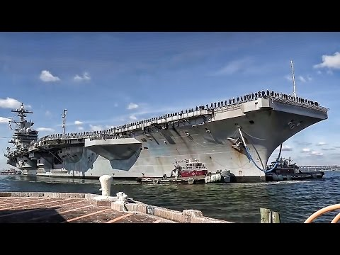 Happy Homecoming • USS George H.W. Bush (CVN-77)