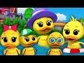 Lima bebek kecil | Lagu sajak anak-anak | Lagu anak-anak | Baby Rhymes | Five Little Ducks thumbnail
