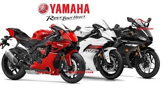 New Yamaha R1/R6/R3 Update in Europe | New Color in Yamaha R Series 2019