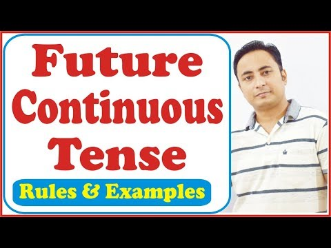 Future Continuous Tense   Will be + Verb +ing   Learn English through Hindi