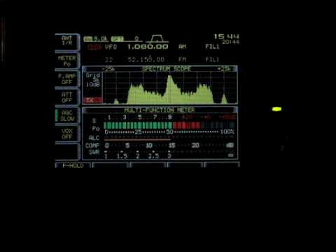 WTIC HD Radio Spectrum - W1AEX
