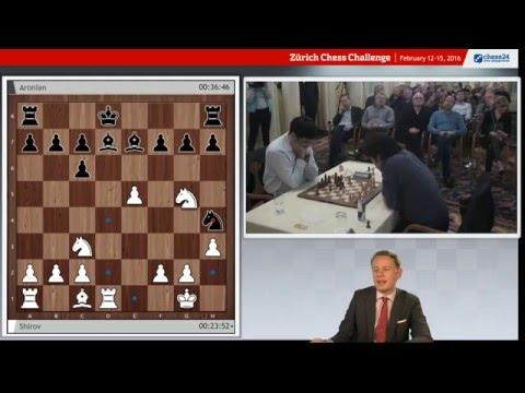 Zurich  Chess Challenge Rapid Round 4. live commentary with Jan Gustafsson