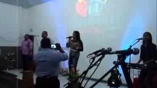 Banda Maria felix na igreja templo da fé levanta