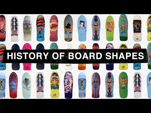 The History of Board Shapes Part 1