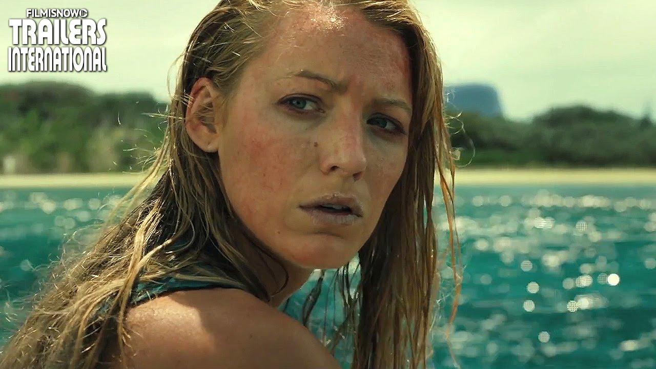 Blake Lively está lutando contra um tubarão para sobreviver em novo trailer de Águas Rasas [HD]
