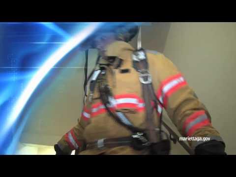 Marietta honors 9/11 firefighters