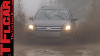 2015 VW Tiguan Wet, Snowy & Muddy Off-Road Review