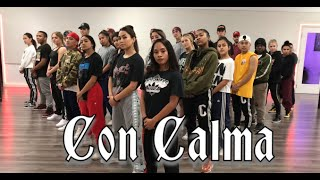 Daddy Yankee Snow Con Calma Official Audio Rehearsal Greg Chapkis Choreography