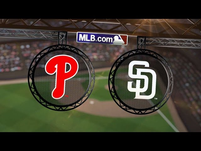 9/18/14: Padres pound Phillies to secure win