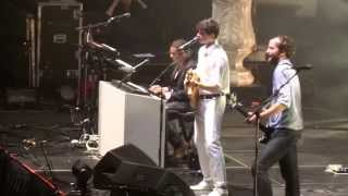 Vampire Weekend - Horchata/Everlasting Arms (Live) Barclay's Center NYC 9.20.13