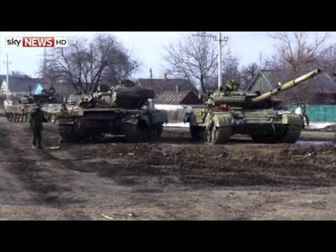 Feb 2015: Ukrainian Forces Retreat From Debaltseve As Rebels Celebrate Victory