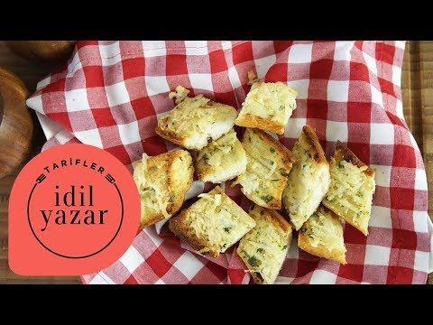 Sarımsaklı Ekmek Nasıl Yapılır? - İdil Tatari - Yemek Tarifleri