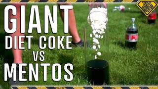 SUPER SIZED Coke vs. Mentos Experiment