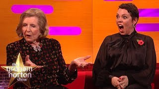 Olivia Colman SHOCKED By Lady Anne Glenconner's Honeymoon Story  | The Graham Norton Show
