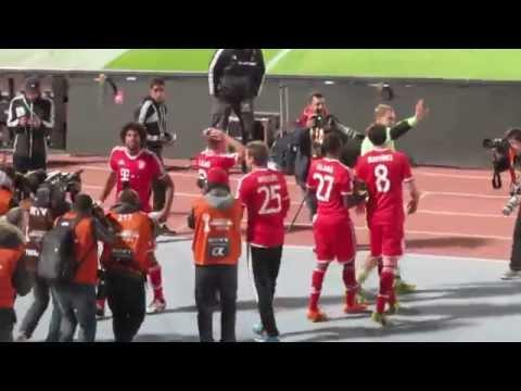 Bayern Munich Celebration - FIFA Club World Cup 2013 Morocco