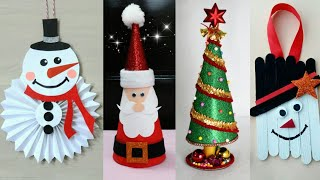 Last Minute Christmas Decoration Ideas | Christmas Crafts for kids | Christmas Home Decoration ideas