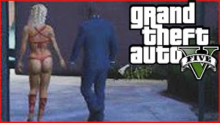 GTA 5 FRANKLIN GETS A GIRLFRIEND! (GTAV Funny Moments)