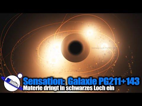 Sensationelle Beobachtung: Schwarzes Loch verschlingt Materie