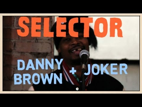 Danny Brown & JOKER - Freestyle - Selector Music Videos