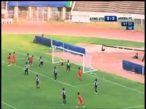 [Gol] Ayeyawady vs Arema Indonesia AFC CUP
