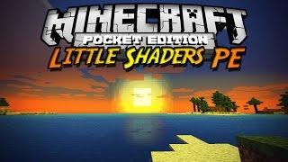 Minecraft PE 0.10.X Shader Pack | Little Shaders PE (Español) | Shader Brillante Mod