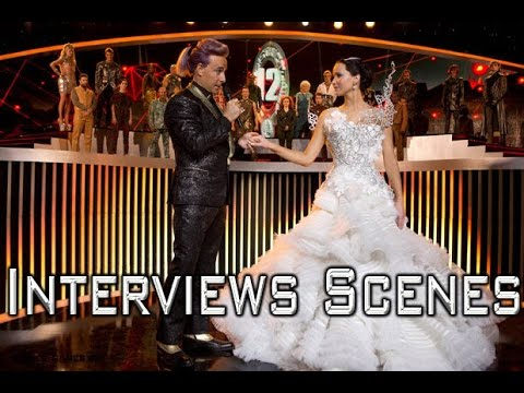 The Hunger Games: Catching Fire - Interviews Scene in HD
