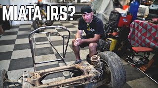 Building Suspension from a Miata?? 750cc Cross Kart Pt. 6