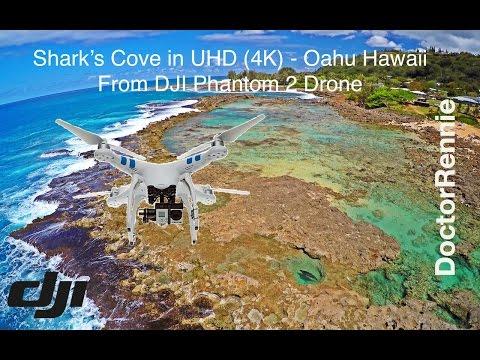 Shark's Cove in UHD (4K) - Oahu Hawaii