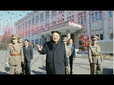 Bizarre scenes as North Korea goes to the polls