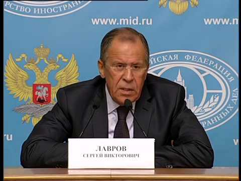 Press-conference of Sergey Lavrov (eng.)