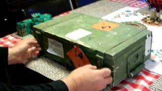 OPENING CRATE OF SKS AMMO