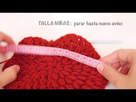 Boina con Visera a Crochet - también para niñas - PARTE 1/2