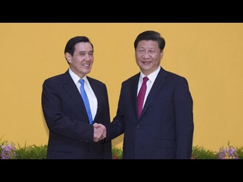 Xi Jinping, Ma Ying-jeou meet in Singapore