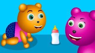 Gummy Bear Finger Family Collection | Gummy Bear Little Baby drinking milk Finger Family Collection