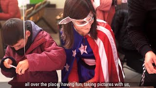 Oracle Volunteers — Superheroes at Children's Public Hospital