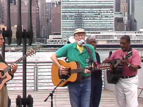 Pete Seeger at Gantry Plaza