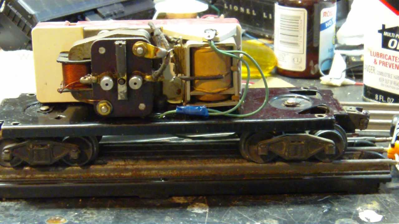 Lionel 6466 Whistle Tender How To Repair