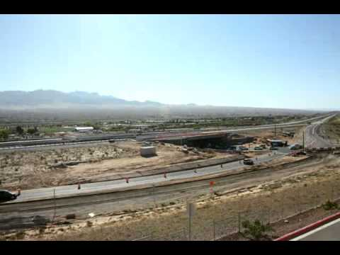 Time-lapse Footage of I-15 Bridge Replacement in Mesquite, NV