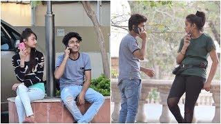 Call Crash Prank On Girls | Epic Prank In India | Ghanta Gyan - Navneet