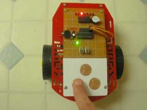 PicAxe Robot Path Programming