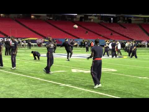 Georgia Dome walk-through 12-6-13