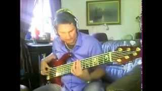 get lucky  by daft punk . G on bass     Writers-Daft Punk & Nile Rodgers