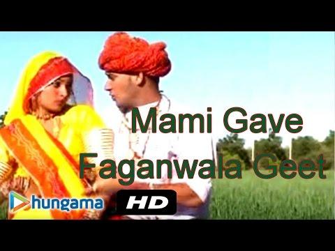 Mami Gave Faganwala Geet - Mami Gave Faganwala Geet - Rajasthani Holi Songs video