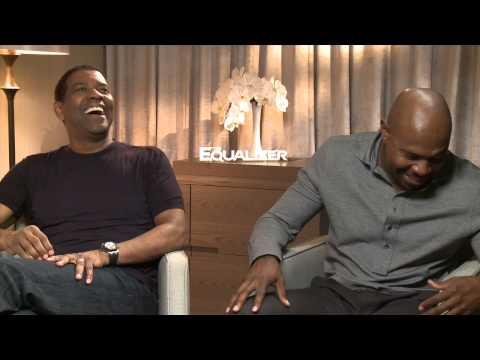 THE EQUAZLIZER Interview With Denzel Washington & Antoine Fuqua