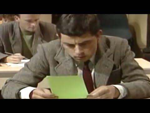 Mr Bean - Copying wrong answer Video