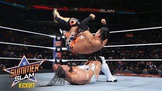 Neville puts WWE Cruiserweight Champion Akira Tozawa to the test: SummerSlam 2017 Kickoff Match