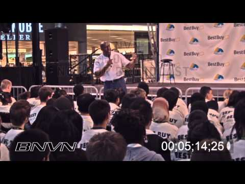 Earvin Magic Johnson Jr., video of talk to children about business Part 2 of 4