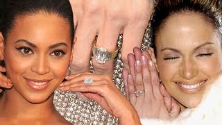 9 Crazy Celeb Engagement Rings