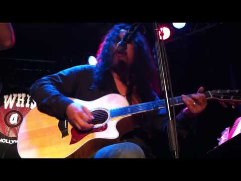 Michael Sweet Oz Fox and Jeff Scott Soto acoustic at The Whiskey Fat Bottom Girls